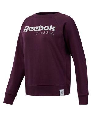 reputable site 6023e d2157 Product image. QUICK VIEW. Reebok. Classics Big Logo Fleece Crew Neck  Sweatshirt.  70.00 Now  35.00 · Classics Vector Leggings BLACK