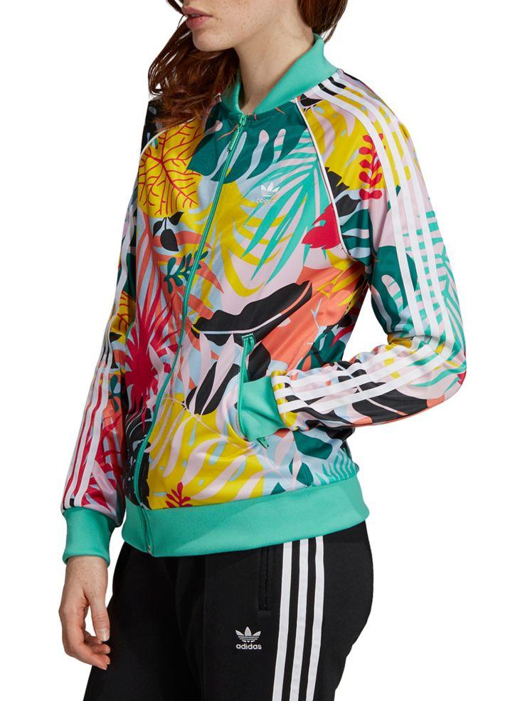a9efeae07dc Adidas Originals - Tropicalage SST Graphic Track Jacket - thebay.com
