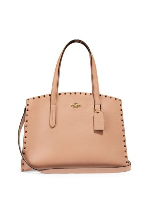 7185fe998f97 QUICK VIEW. Coach. Charlie Rivet Leather Carryall
