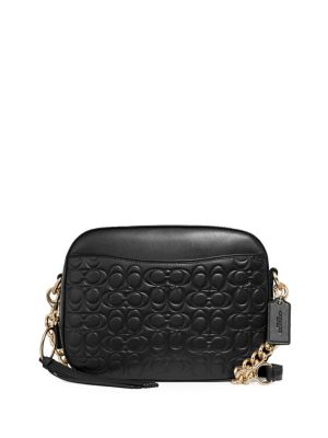 c44a4d253b Quilted Logo Leather Camera Bag BLACK. QUICK VIEW. Product image