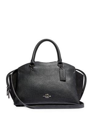 9e7211790a68 Coach. Prairie Leather Satchel.  295.00 · Drew Leather Satchel Bag BLACK.  QUICK VIEW. Product image