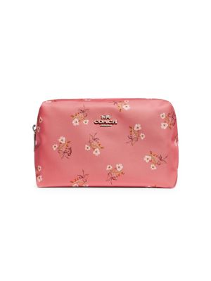 032a641390 QUICK VIEW. Coach. Large Floral Boxy Nylon Cosmetic Pouch