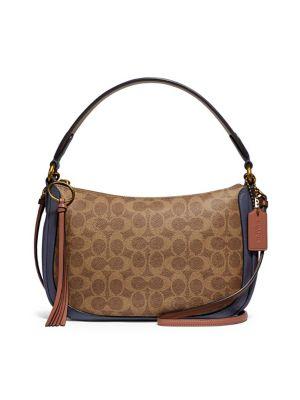 8666d44dd552 Product image. QUICK VIEW. Coach. Colourblock Canvas   Leather Sutton Crossbody  Bag
