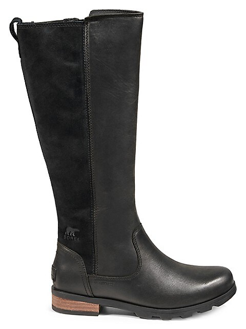Sorel Emelie Waterproof Leather & Suede Tall Boots