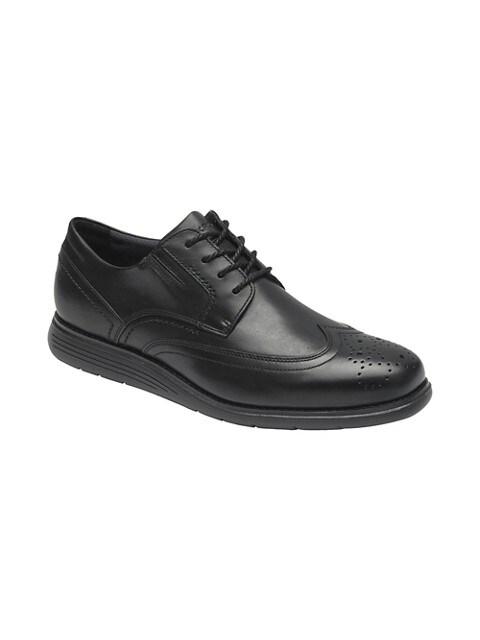 Rockport Chaussures sport habillées en cuir Total Motion Sport pour homme NOIR