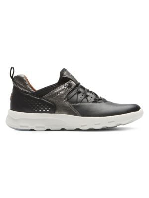7e6975dbb3 Let's Walk Leather Sneakers Black. QUICK VIEW. Product image
