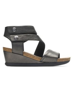 c07756109147 QUICK VIEW. Rockport Cobb Hill. Shona Leather Wedge Sandals