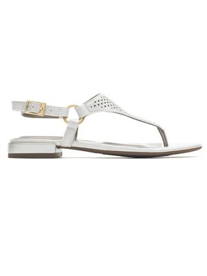c8d535742f1 Total Motion Zosia Thong Sandals WHITE. QUICK VIEW. Product image