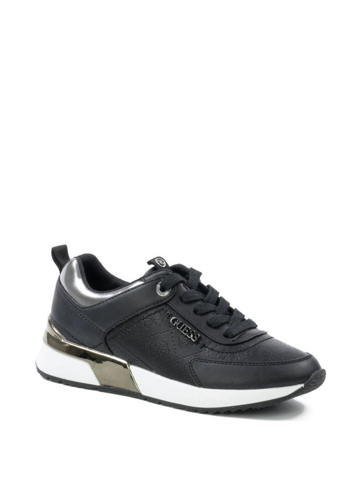 21e407d86894 GUESS - Chaussures sport basses à talon compensé Marlyn pour femme ...