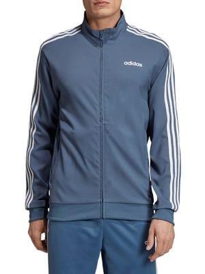 8fe673577 QUICK VIEW. Adidas. Essentials 3-Stripes Woven Track Jacket. $85.00 · Logo  Cotton Sweatshirt BLACK