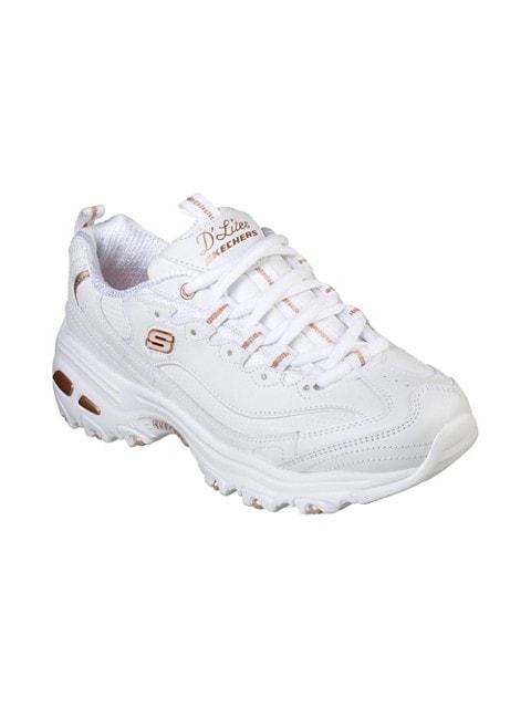 Skechers Chaussures sport D'Lites Fresh Start OR ROSE/BLANC