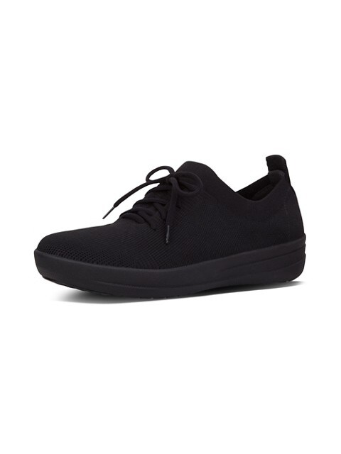 Fitflop Chaussures sport en nylon F-Sporty Uberknit pour femme NOIR