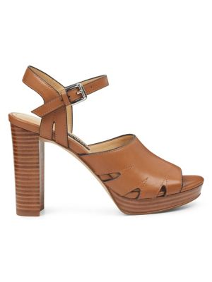 02609428cda QUICK VIEW. Nine West. Delilah Heeled Leather Sandals