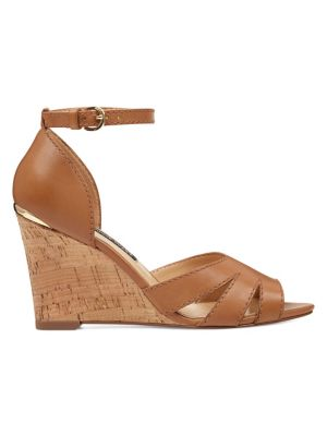380d6e7a80e QUICK VIEW. Nine West. Lily Leather Wedge Sandals