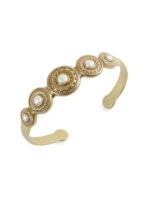 aab3818fc6e ... Pearl Cuff Bracelet GOLD. QUICK VIEW. Product image. QUICK VIEW. Lucky  Brand