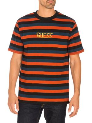 Originals Striped Cotton Tee by Guess