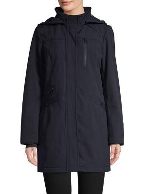 hooded-softshell-jacket by london-fog