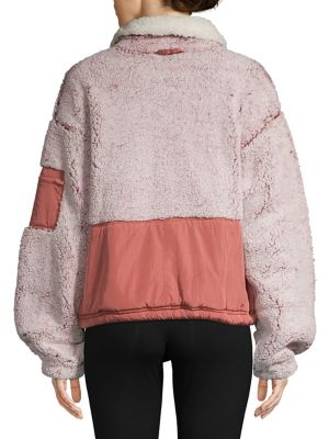 Colourblock Fleece Jacket by Free People
