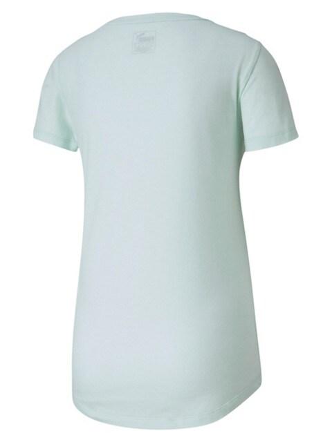 Puma T-shirt essentiel à effet chiné avec logo VERT