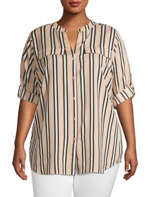 8495982646b6e3 Women - Women's Clothing - Plus Size - Tops - thebay.com