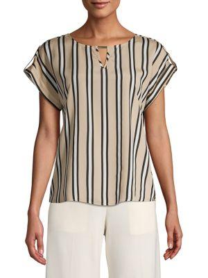 e5afd9357ebb7f Calvin Klein | Women - Women's Clothing - Tops - Blouses - thebay.com