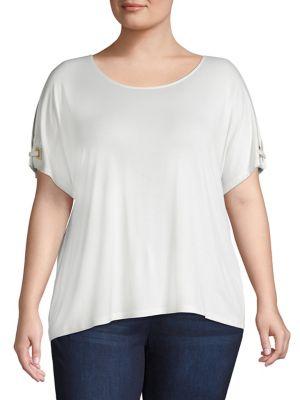 70066c20c8e40b Women - Women's Clothing - Plus Size - Tops - thebay.com