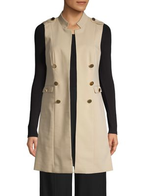 e0e10fbba QUICK VIEW. Calvin Klein. Button-Down Vest. $139.00 Now $104.25 · Anarok  Snap Button Jacket ...