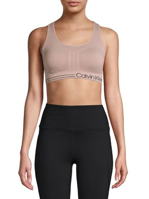 faf7f19b82c Product image. QUICK VIEW. Calvin Klein Performance. Elasticized Logo Sports  Bra