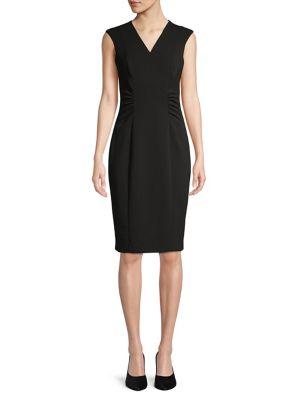 3ab91826 Product image. QUICK VIEW. Calvin Klein. Sleeveless Sheath Dress