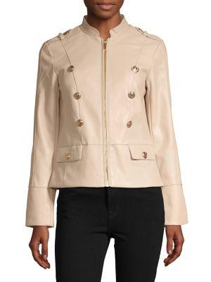 d0c57b8094ca1 QUICK VIEW. Calvin Klein. Mandarin Collar Jacket