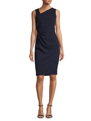 c425b19187b QUICK VIEW. Calvin Klein. Asymmetric Neck Sheath Dress