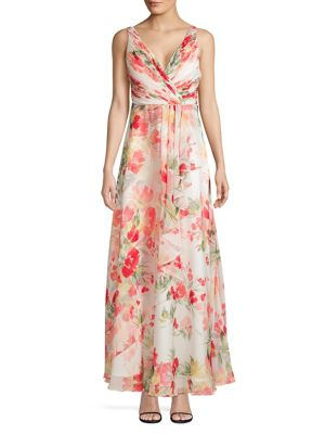 d14a55c9a8f Product image. QUICK VIEW. Calvin Klein. Floral Chiffon Gown.  299.00 Now   209.30 · Halter Neck Cascade Maxi Dress BLUE