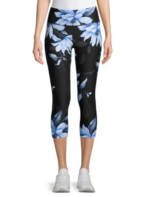 7c1a90bb89acba QUICK VIEW. Calvin Klein Performance. Floral Cropped Leggings