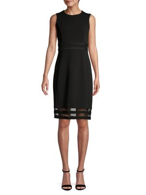 f483899586b Product image. QUICK VIEW. Calvin Klein. Sleeveless Sheath Dress