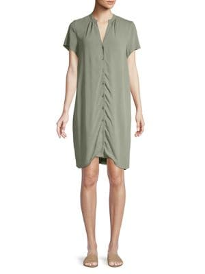 d093004314 Product image. QUICK VIEW. H Halston. Ruched Dress