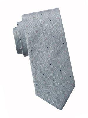 """Off-White Silk Tie Dye Pocket Square by ROYAL SILK® 16"""" x 16"""""""