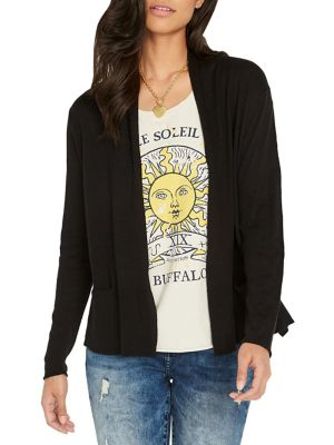 700ed7f77 Surface Open Front Cardigan BLACK. QUICK VIEW. Product image