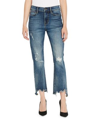 Pandora Semi High Rise Straight Jeans