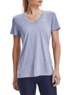 T-shirt  col en V Tech Twist