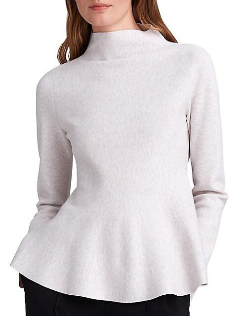 Club Monaco Full Milano Peplum Sweater