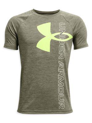T-shirt Tech Split hybride avec logo pour garon