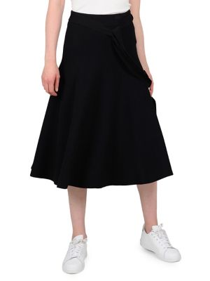 ff61626b8b Classic A-Line Skirt BLACK. QUICK VIEW. Product image