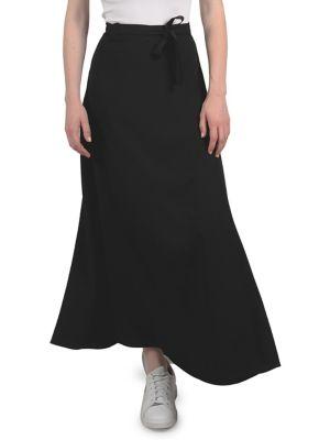 f814c6ba3b38 Lili Sidonio Wrap Maxi Skirt BLACK. QUICK VIEW. Product image
