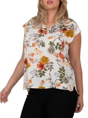 b83f6c0800a9d Women - Women s Clothing - Plus Size - Tops - thebay.com