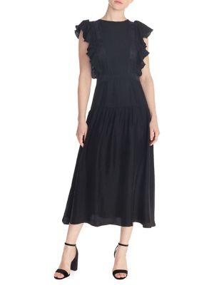 6479bceb8057 QUICK VIEW. Sandro. Agnesse Midi Dress.  495.00. designer