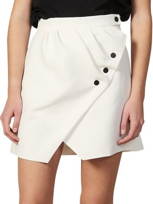 20ef2fb24 QUICK VIEW. Sandro. Preco Zoelle Buttoned Wrap Mini Skirt