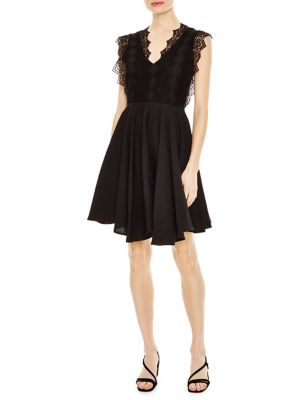 7cad00d5023 QUICK VIEW. Sandro. Evo Lace Fit   Flare Dress