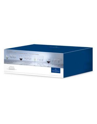 Villeroy & Boch Maxima 24 Piece crystal stemware set