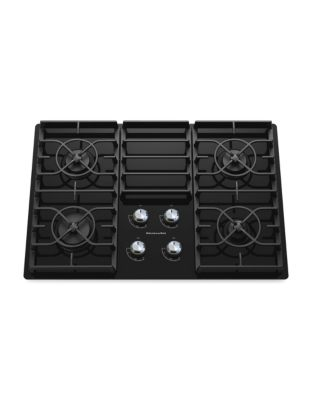 KGCC506RBL 30-inch Gas Cooktop with 17K BTU Professional Burner- Black photo