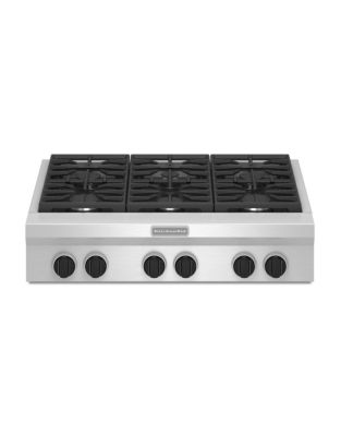 KGCU467VSS 36-inch Gas Cooktop with 20K BTU Ultra Power Dual-Flame Burner- Stainless Steel photo